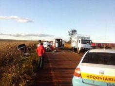 JORNAL CORREIO MS: Duas pessoas morrem em acidente na rodovia MS-060