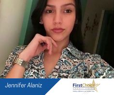 Meet Jennifer Alaniz who has a year of service with us. Jennifer first started with us as an intern. She soon became a full-time member of the #FCCU family. Now, she is trained in several areas of the Credit Union and is currently serving members on the teller line. Jennifer has also played an important role in developing relationships with our Hispanic Community. When she isn't working, she is attending Palm Beach State College and plans to major in Business. Fo