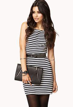 Striped Sheath Dress | FOREVER 21 - 2000045733
