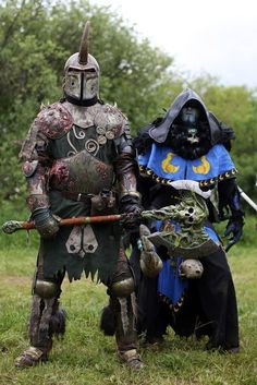 A dark side Tank and Caster out to cause mischief.