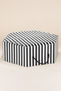 2f5732864ca M amp S Collection Striped Hat Box £4 Baggage Claim
