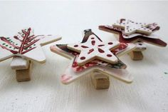 Nordic Holiday Decor : DIY Clips #christmas #craft by Coryanne Ettiene