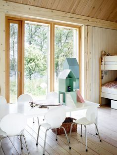 Las luminosas habitaciones de las niñas