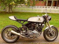Yamaha XV Cafe Racer by Juho from Finland