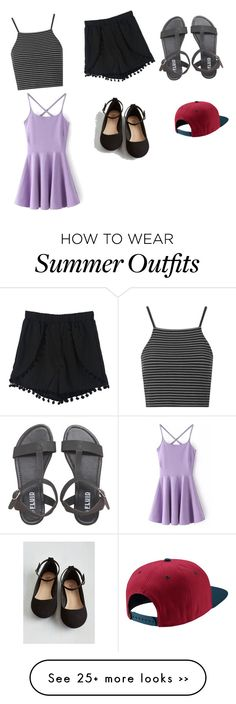 """""""Summer outfits"""" by huangchloe on Polyvore"""