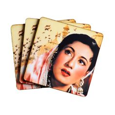 Madhubala Coasters. Grab this at an amazing bargain, only from Bagittoday.com.