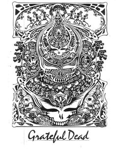 steal your dead - Grateful Dead Coloring Book