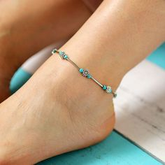occasion cadeau danse Bracelet de cheville mer breloques bijoux fantaisie plage papillon femmes papillon filles pendentifs /ét/é