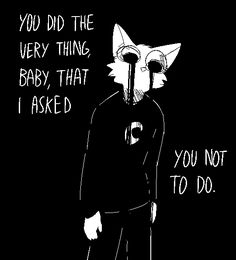 i draw those binary pics with words on em. people steal/repost my art a ton and so i post less now. Wolf Quotes, Dark Quotes, Bd Art, Vent Art, Dark Thoughts, My Demons, Dark Art, Illustrations, Creepy