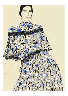 Fashion Design Sketches 476959416785209460 - Agent & Artists – Rosie McGuinness Source by agentandartists Thé Illustration, Fashion Illustration Sketches, Fashion Sketches, Medical Illustration, Art Illustrations, Fashion Design Sketchbook, Fashion Design Drawings, Art Sketchbook, Collage Drawing