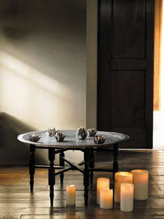 moroccan tea table