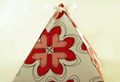 Free gift bag - box paper templates