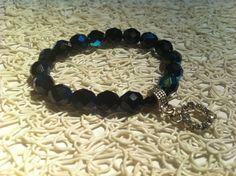Tomas sabo inspired Beaded charm bracelet . £10.00, via Etsy.