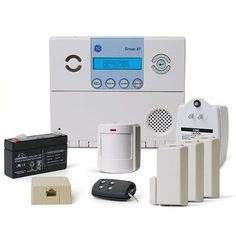 GE Security 80-649-3N-XT Simon XT Crystal Package C5 w/o X10: Control, Battery, Class II Transformer, Phone Cord, RJ31X Jack, Video, (3) Crystal Door/ by GE. $209.00