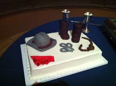 Grooms cake for the cowboy
