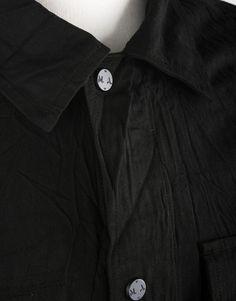 Marshall Artist Garment Dyed Field Jacket - Black