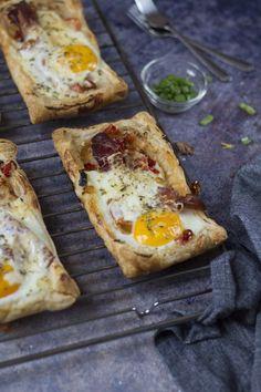Tükörtojásos-krémsajtos pite reggelire