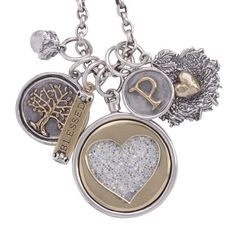 Waxing Poetic ~ Assorted Charms, Sterling Silver And Brass