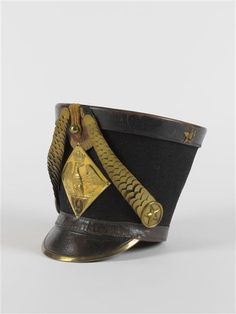 Shako of the French 9th Hussars.