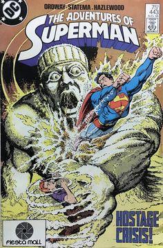 Adventures of Superman - DC Entertainment Dc Comics, Action Comics 1, Superman Characters, Superman Comic, Comic Book Covers, Comic Books Art, Book Art, Adventures Of Superman, Superman Family
