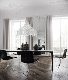Modern French contemporary parisian Interiors 27