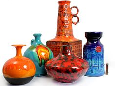 west german pottery collection