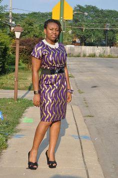 OOTD – DIY African Print (Ankara) Dress ~African fashion, Ankara, kitenge, African women dresses, African prints, African men's fashion, Nigerian style, Ghanaian fashion ~DKK