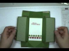 Easy Stampin' Up! Box Card. Video made by Dawn Ochefski. If you like card folds, you're going to love this one!