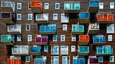 Colour full windows