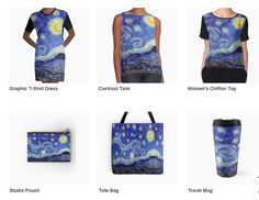 Redbubble A Starry Night Products