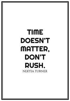 #76 time doesn't...