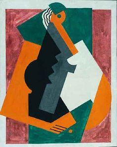 Figura Cubista, 1921 - Albert Gleizes. Arte Abstracto , Cubismo