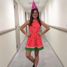 watermelon Halloween costume!