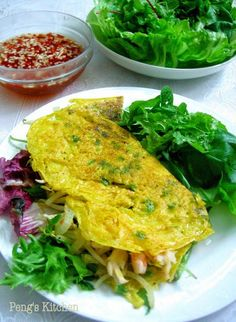Singapore Home Cooks: Vietnamese Sizzling Crepes by Veronica Chai