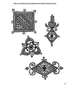 Moor on the Spot…a new book from Nic and Kenzi - - Hey all you Moroccan hennaheads, lovers of all things Moroccan and henna, we have a new book out! Nic and I have been trapped under snow drifts for the past few months but fortunately we both had p…. Henna Doodle, Henna Tattoo Kit, Henna Mandala, Mandala Tattoo Design, Henna Tattoo Designs, Henna Art, Tattoo Ideas, Traditional Henna Designs, Indian Henna Designs