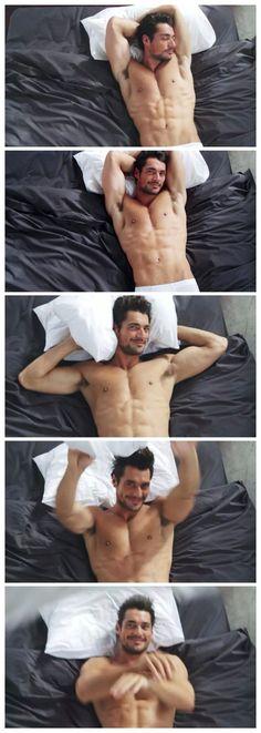 David Gandy ❤️ Can i just? Omg... seriously... just look at him! Look.At.Him.