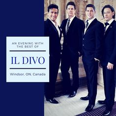 A Night with the Best of Il Divo is staying in Canada for now in Windsor ON! Show our guys some love from close or afar people (Photo Il Divo) @sebdivo @ildivo_official @carlosmarinildivo @ildivours ---------- #sebsoloalbum #ildivotour #ildivocruise #teamseb #sebdivo #sifcofficial #ildivofansforcharity #sebastien #izambard #sebastienizambard #ildivo #ildivoofficial #singer #band #musician #music #composer #producer #artist #charityambassador #instagood #instamusic #carlosmarin #ursbuhler…