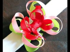 Just TWIST IT! (Twisted Hairbow help) Video tutorial on how to make loops on your hair bows. DIY