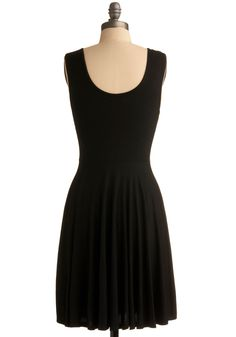 days of the chic dress - #modcloth super simple little black dress, but could be accessorized so many ways