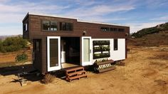 The Survival tiny house. A 280 sq ft home featured on FYI's Tiny House Nation.