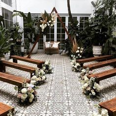 Where Romance Begins on When secret garden court yards are turned into magical ceremony spaces stunning setup by a whole bunch of creatives Florals Wedding Ceremony Ideas, Wedding Events, Wedding Themes, Intimate Wedding Reception, Small Wedding Receptions, Cheap Wedding Venues, Small Intimate Wedding, Boho Wedding Decorations, Wedding Centerpieces