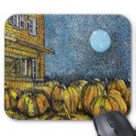 Pumpkin Patch Mouse Pad #thanksgiving