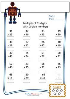 math worksheet : math worksheets  2 digit by 2 digit multiplication 4  math  : Advanced Multiplication Worksheets