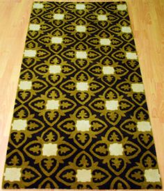 The Exotic Rug, bespoke colours and ordered as a Runner. #Interiors