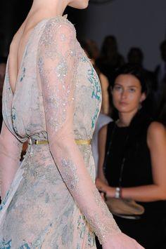 Elie. Always so ethereal & feminine. Elie Saab fall 2012 couture