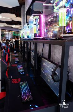 The Pantheon, Malaysia's first of NVIDIA GeForce GTX certified Platinum eSports arena! ~ by Bowie Cheong
