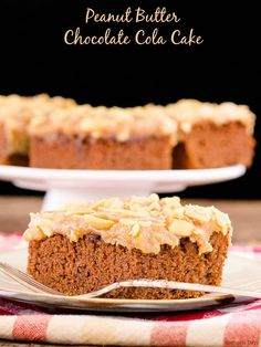 Peanut Butter Chocolate Cola Cake with the best flavor combo of PB & Choc plus special sweetness from cola. This southern favorite will be a hit with your family and friends.