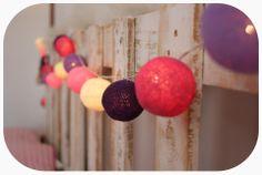 Guirnalda con Luces Farolitos de Hilo, Pura Inspiracion