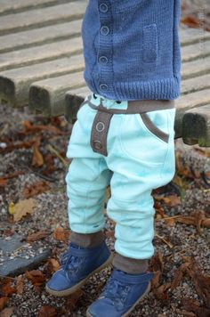 Sewing patterns Steppo  Children 's trousers Sewing stitches from Sweat - Picture 1  Textilesucht.de