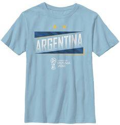 FIFA 2018 World Cup Russia Argentina T shirt Ruusia T-shirt WorldCup2018 4b1d92b503855